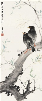 花鸟 by ma mengrong