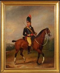 dragon ou hussard anglais, cavalerie légère, ler empire by richard livesay