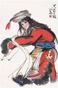 人物 by zhou canggu