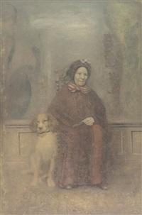 la vielle dame avec le chien by boris zaborov
