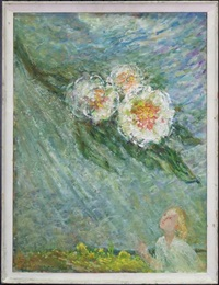 girls and flowers by augustus annus
