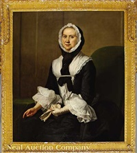 portrait of a lady (hannah sansay?) by joseph highmore
