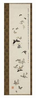 butterflies by noguchi shokei