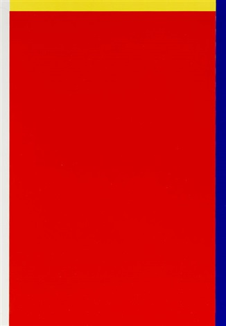 4 blätter rot gelb weiss blau 4 works by imi knoebel