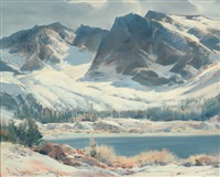 high sierra mountains, ca by paul lauritz