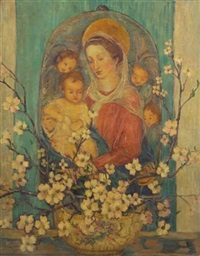 madonna and child by dorothea m. litzinger