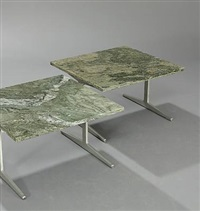 coffee tables (pair) by paul leidersdorff