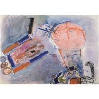 paracadutista con prospettiva by miela reina