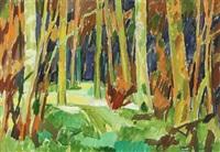forest scenery by mogens sigurd andersen