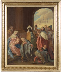 adoration of the magi by caspar franz sambach