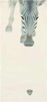 若水 (horse) by lei mingna