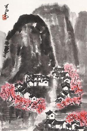 春雨江南 by li keran