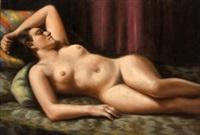 desnudo femenino by rafael argeles y escriche