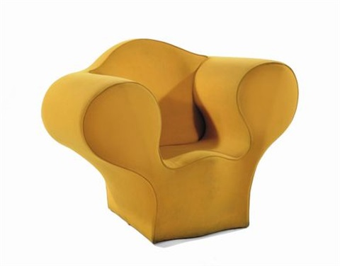 poltrona modello soft easy by ron arad