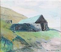 hut from the faroe islands by joannis kristiansen