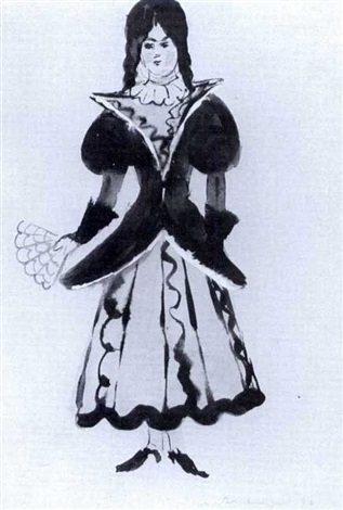 costume design for the young miss by meier akselrod