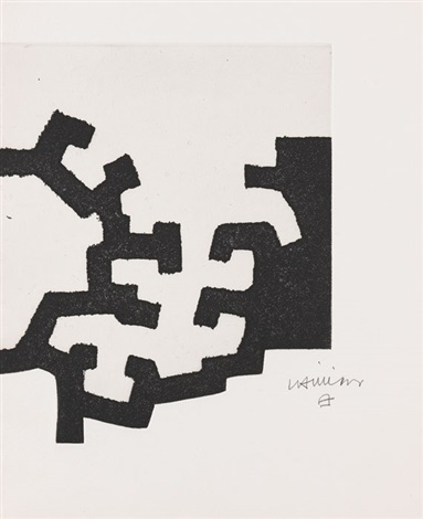 adoración i pl1 from suite of 3 by eduardo chillida