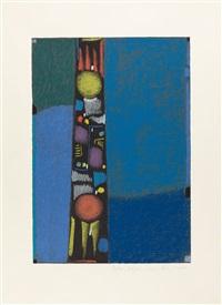 2 bll.: orange - obelisk by max ackermann