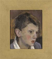 young boys (set of 8 studies) by leonid petrovitch baikov