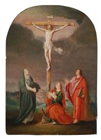 kreuzigung christi by cornelis cornelisz van haarlem