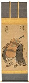 弥勒佛图 by qian xuan