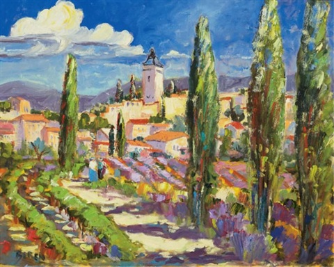 summer in the provence by evelyne boren