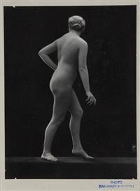 4 photographs: aktstudien by jean-marie auradon