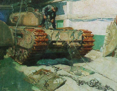 tank repairs by terence cuneo