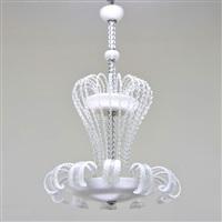 large chandelier by ferro murano