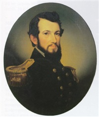 portrait of lieutenant james b. mccauley by william alexander kennedy martin