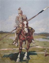 ulane zu pferd by angelo jank