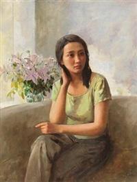女青年 (young women) by yuan zhengyang
