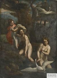 leda und der schwan by correggio