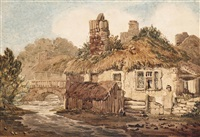 a riverside cottage in exeter by samuel prout