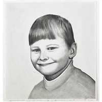 untitled (smiling boy) by sean mellyn