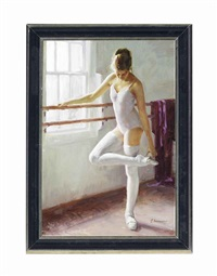 the young dancer by dmitri kolujni