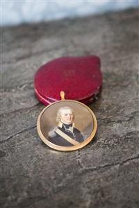 miniatyrmålning by fränckel liepmann