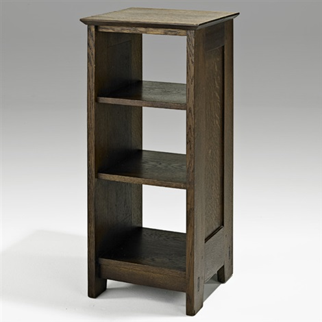 early magazine stand no 547 by gustav stickley