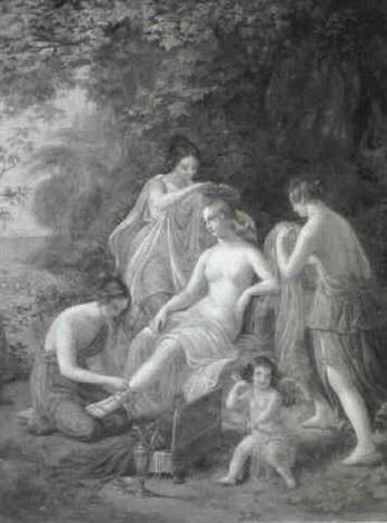 mythologische szene by c herr