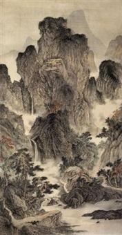 landscape by xu shiping