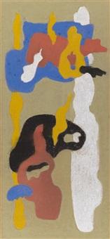gegenstandslose komposition 1933 by max ackermann