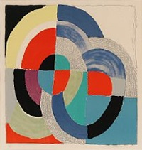 composition with circles by sonia delaunay-terk