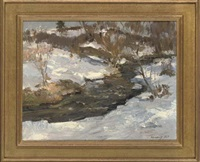 the first snow (+ 2 others; 3 works) by leonid ignatevich vaishlya
