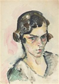 porträt gabriele von bose by eduard bargheer