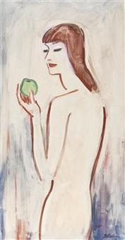 eve à la pomme verte by jules fehr