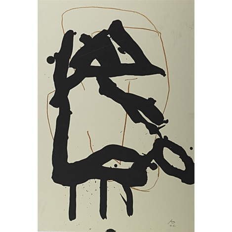beau geste vi by robert motherwell