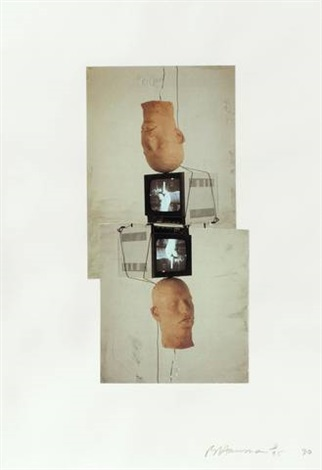 frankfurt portfolio set of 4 by bruce nauman