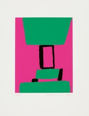 serigraphien (portfolio of 7) by max ackermann