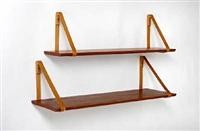 shelves (set of 5) by kristian solmer vedel