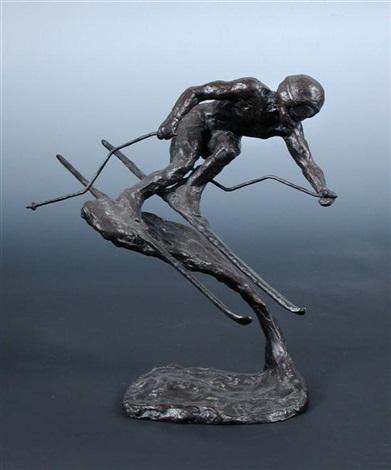 skier model by mark coreth rudolf